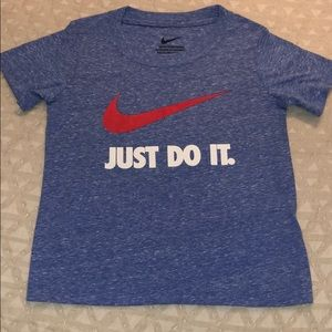 Nike just do it T-shirt Size 3T NWT